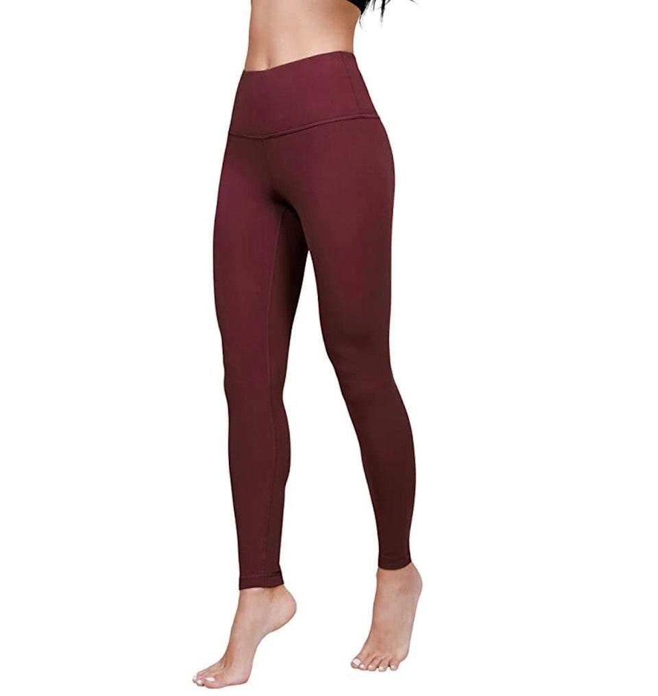 """<p><strong>Reviews & rating:</strong> 7,272 reviews, 4.4 out of 5 stars.</p> <p><strong>Key selling points:</strong> These ultra-soft lightweight leggings live up to the name — reviewers rave about the super-soft material and easy fit. They don't offer as much compression as some fitness leggings, but definitely prioritize comfort.</p> <p><strong>What customers say:</strong> """"I bought the black pair of leggings and absolutely love them. It feels like you are wearing nothing! The material is silky soft and truly featherweight, but still isn't see-through. I definitely recommend these leggings."""" —<a href=""""https://amzn.to/3e84HUE"""" rel=""""nofollow noopener"""" target=""""_blank"""" data-ylk=""""slk:Pheebs"""" class=""""link rapid-noclick-resp""""><em>Pheebs</em></a><em>, reviewer on Amazon</em></p> $22, Amazon. <a href=""""https://www.amazon.com/Yogalicious-Waist-Ultra-Lightweight-Leggings/dp/B08GGBZFQW/ref="""" rel=""""nofollow noopener"""" target=""""_blank"""" data-ylk=""""slk:Get it now!"""" class=""""link rapid-noclick-resp"""">Get it now!</a>"""