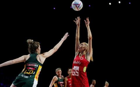 Netball - Netball World Cup - Third Place Play-Off - England v South Africa - M&S Bank Arena, Liverpool, Britain - July 21, 2019 England's Helen Housby in action - Credit: REUTERS