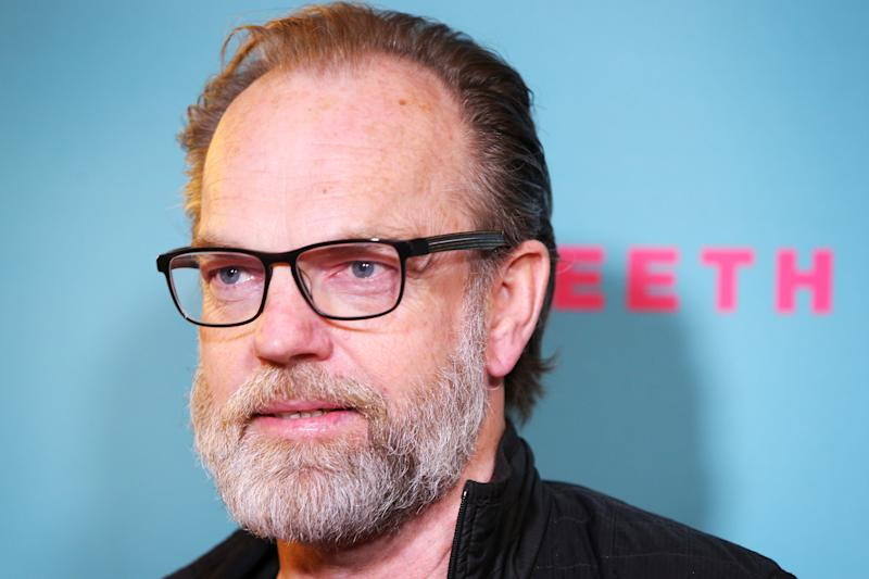 SYDNEY, AUSTRALIA - JULY 20: Hugo Weaving attends the Sydney premiere of Babyteeth At Randwick Ritz on July 20, 2020 in Sydney, Australia. (Photo by Lisa Maree Williams/Getty Images)