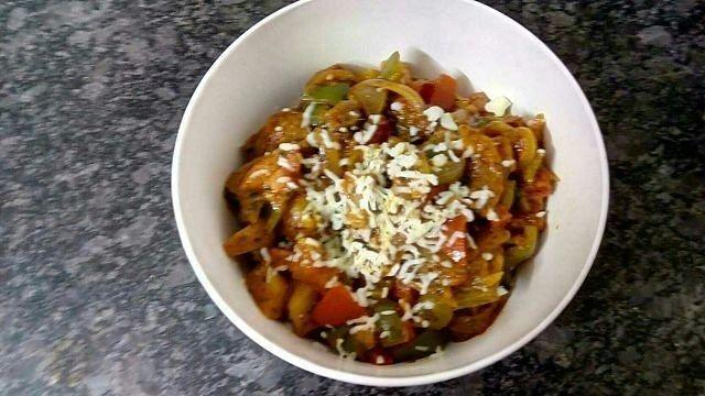 Make Restaurant Style Cheesy Mix Vegetable At Your Home