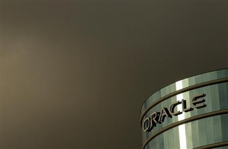 File photograph of Oracle Corp headquarters Redwood City