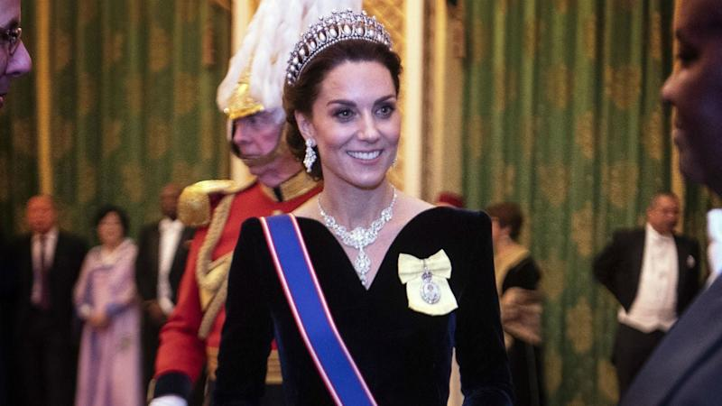 Kate Middleton Recycles Princess Diana's Tiara as Queen Elizabeth Drips in Emeralds