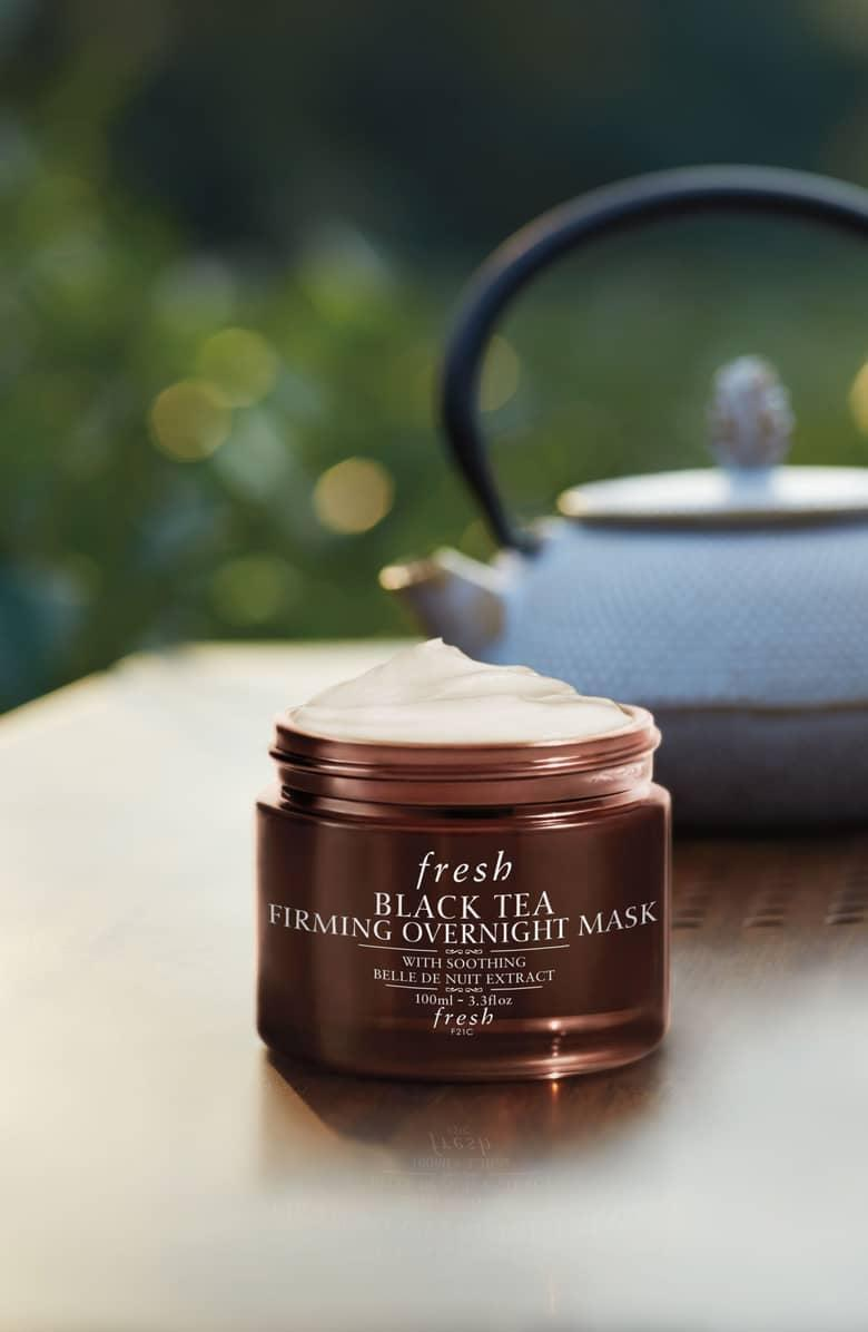 <p>Consider this <span>Fresh Black Tea Firming Overnight Mask</span> ($35) to be a facial in a jar; wake up in the morning with a tigher, firmer, bouncier complexion.</p>