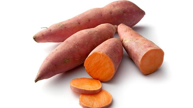 Sweet potatoes are rich in fibre, vitamins A, C and an excellent source of carbohydrates. Source: Getty