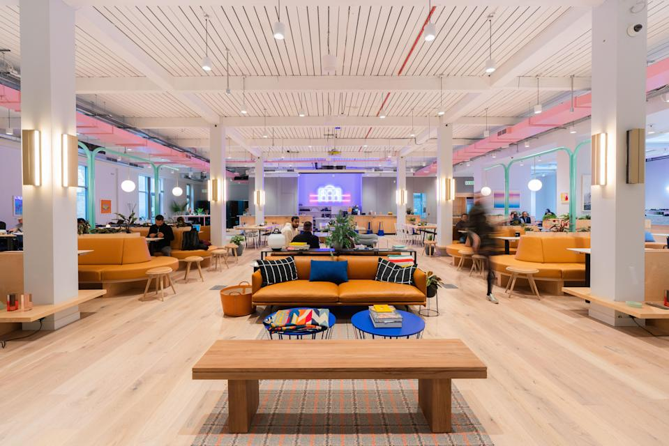 Offices firm WeWork has a number of sites in London (WeWork)