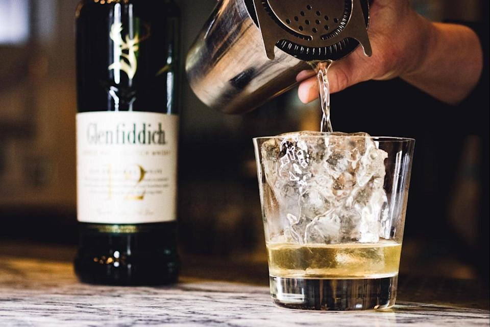 <p>Raise a toast: the new cocktail has been sent out to more than 100 industry professionals</p> (Glenfiddich/Celebrate Her)