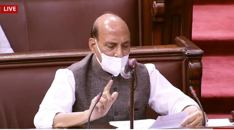 Rajnath Singh Statement in Rajya Sabha on India-China Standoff in Ladakh: 'Chinese Actions Reflect Disregard of Our Various Bilateral Agreements'