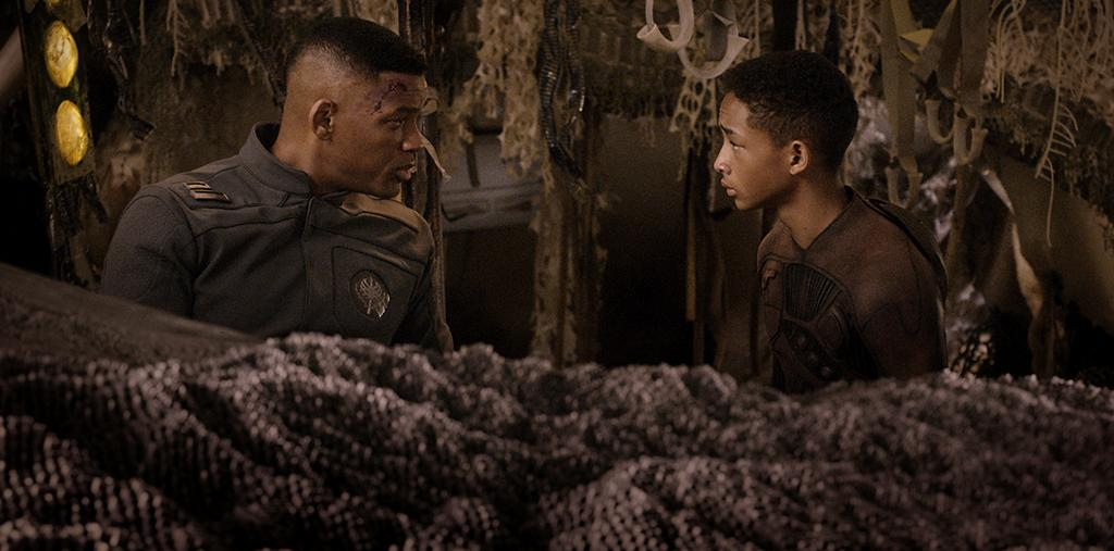 """Will Smith and Jaden Smith in Columbia Pictures' """"After Earth"""" - 2013"""