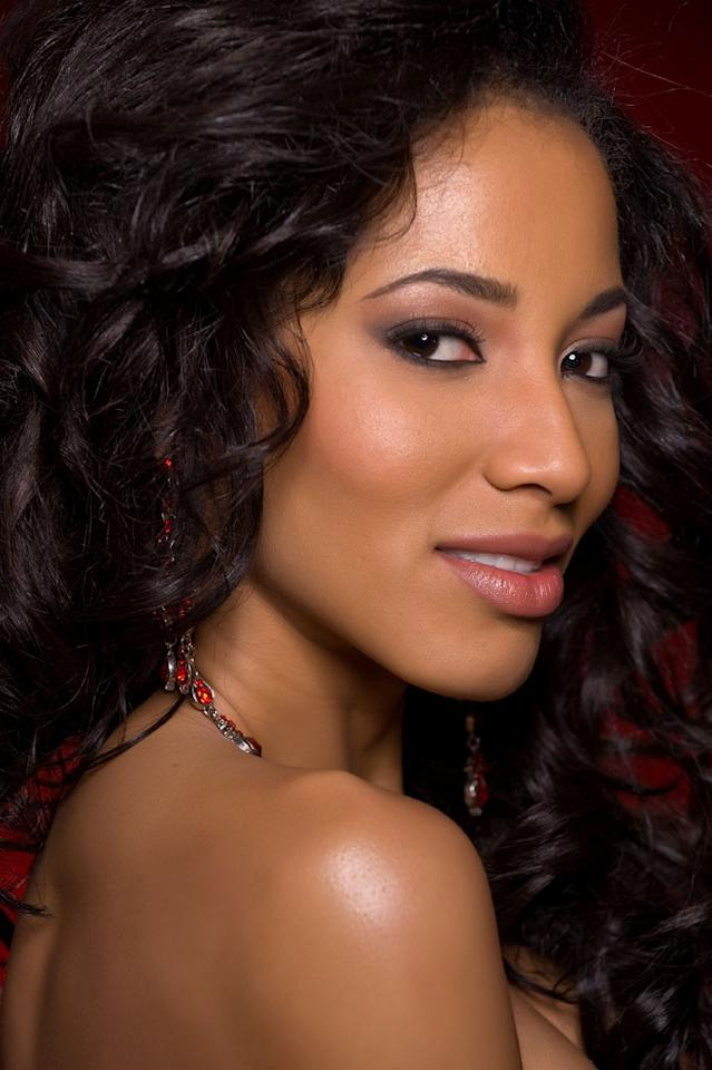 Marva Wright, Miss Costa Rica 2010, competes for the title of Miss Universe 2010 during the 59th Annual Miss Universe competition from the Mandalay Bay Resort and Casino, in Las Vegas, Nevada.