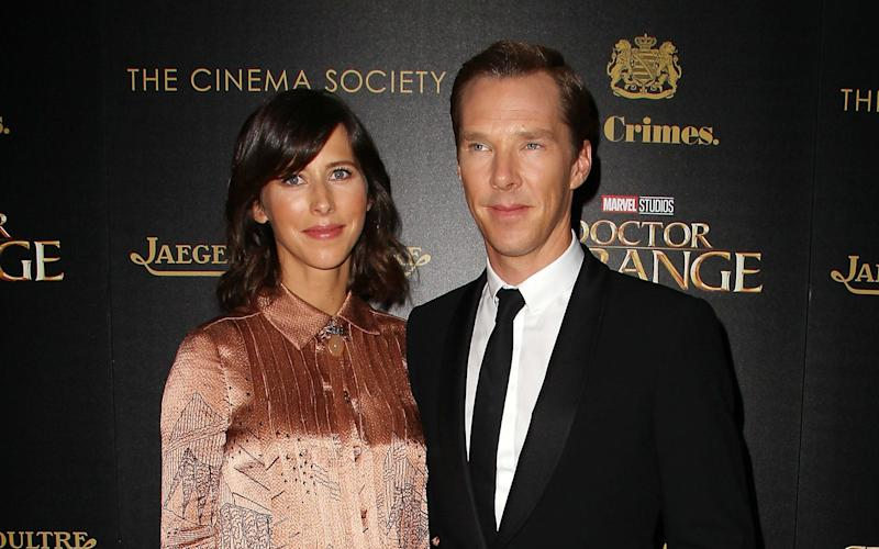 Sophie Hunter and Benedict Cumberbatch are reported to have welcomed their second child, a boy - Copyright (c) 2016 Rex Features. No use without permission.