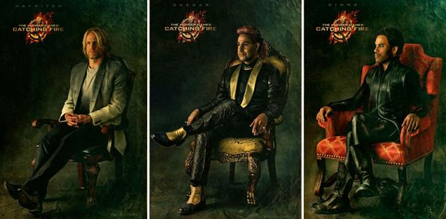 'The Hunger Games: Catching Fire' Capitol Couture portraits