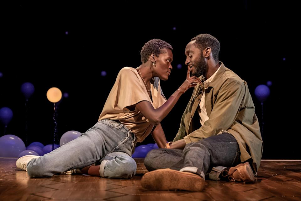 Sheila Atim and Ivanno Jeremiah in Constellations (Marc Brenner)