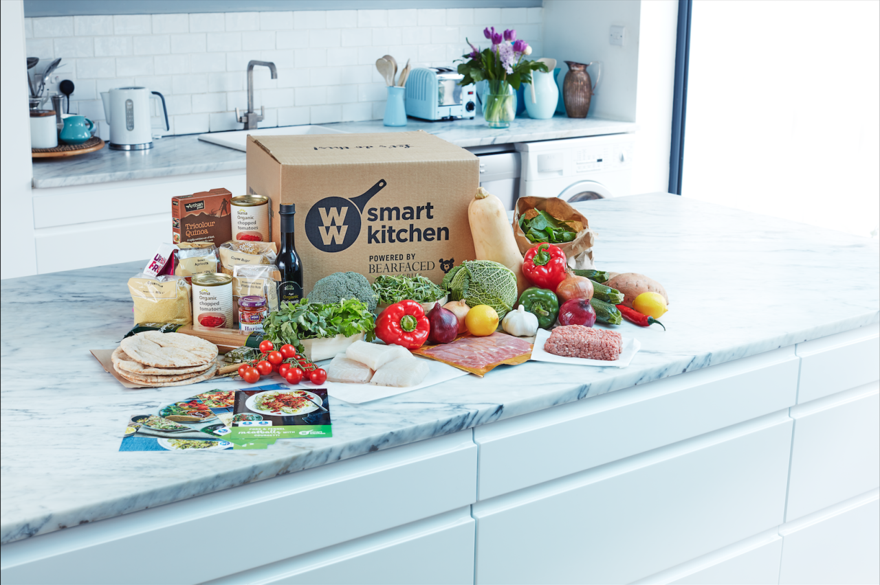<p>Earlier this year Weight Watchers launched its own food delivery box, complete with the SmartPoints values of all meals calculated by nutritionists so it fits right in to the Weight Watchers programme. [Photo: Weight Watchers] </p>