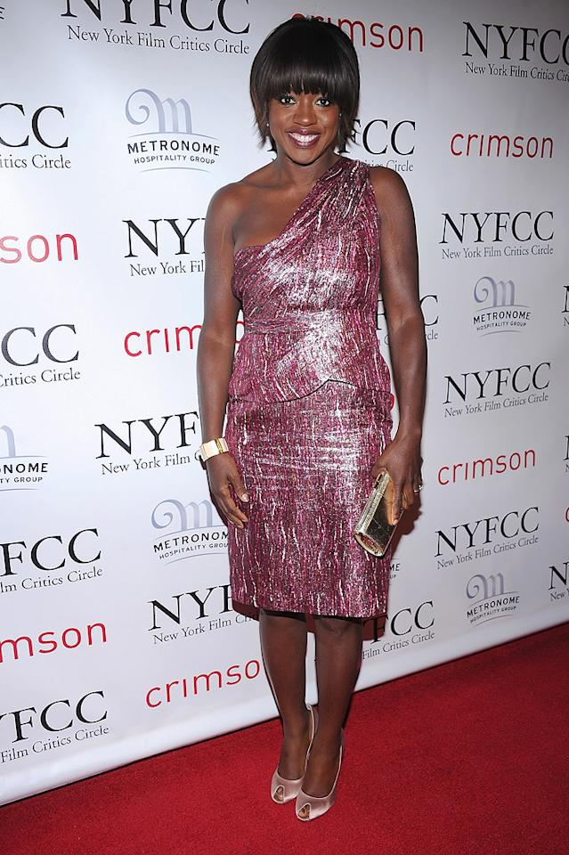 "<a href=""http://movies.yahoo.com/movie/contributor/1800315745"">Viola Davis</a> at the 2011 New York Film Critics Circle Awards in New York City on January 9, 2012."