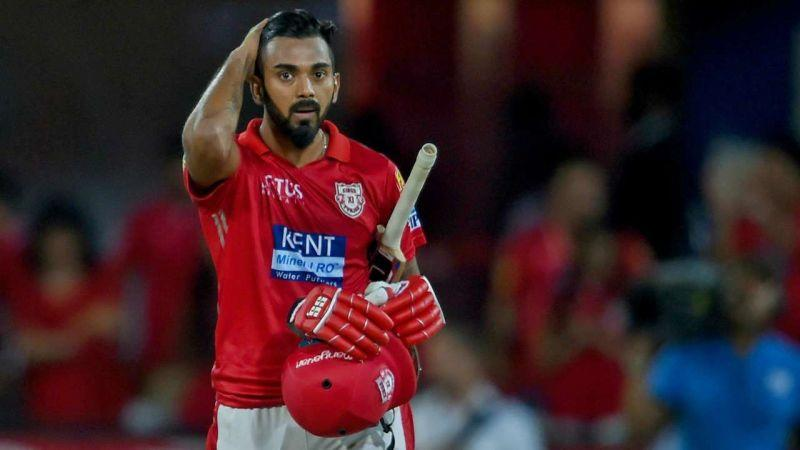 KL Rahul also keeps wickets for KXIP