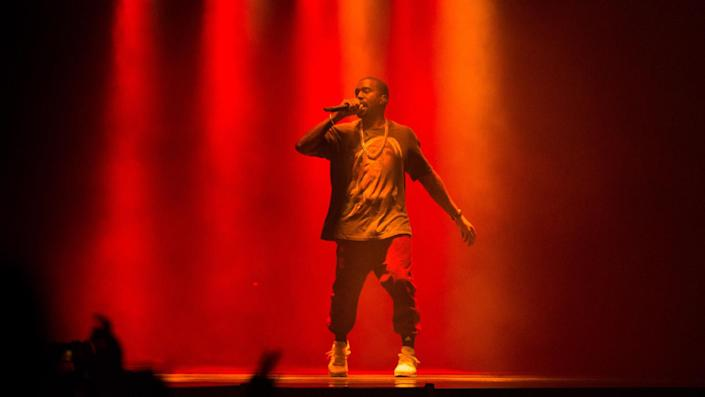"""<ul> <li><strong>Net worth:</strong> $6.6 billion</li> </ul> <p>When Forbes featured rapper Kanye West on its cover in 2019, the magazine cited him as a multimillionaire, rather than as a billionaire -- a detail that apparently peeved West enough to let Forbes know in a disgruntled text in which he called out the business magazine for being """"disrespectful."""" Disrespect him no more. As of March 2021, multiple outlets reported West's fortune had risen to $6.6 billion on the strength of his music, his sneaker deal with Adidas, a clothing partnership with the Gap and other investments.</p> <p class=""""p1""""><b><i>More From GOBankingRates</i></b></p> <ul class=""""ul1""""> <li class=""""li2""""><span class=""""s1""""><a href=""""https://www.gobankingrates.com/ask-the-financially-savvy-female/?utm_campaign=1120407&utm_source=yahoo.com&utm_content=17&utm_medium=rss"""" rel=""""nofollow noopener"""" target=""""_blank"""" data-ylk=""""slk:What Money Topics Do You Want Covered: Ask the Financially Savvy Female"""" class=""""link rapid-noclick-resp""""><span class=""""s2""""><b><i>What Money Topics Do You Want Covered: Ask the Financially Savvy Female</i></b></span></a></span></li> <li class=""""li2""""><span class=""""s1""""><a href=""""https://www.gobankingrates.com/retirement/social-security/5-things-americans-dont-know-about-social-security/?utm_campaign=1120407&utm_source=yahoo.com&utm_content=18&utm_medium=rss"""" rel=""""nofollow noopener"""" target=""""_blank"""" data-ylk=""""slk:5 Things Most Americans Don't Know About Social Security"""" class=""""link rapid-noclick-resp""""><span class=""""s2""""><b><i>5 Things Most Americans Don't Know About Social Security</i></b></span></a></span></li> <li class=""""li2""""><span class=""""s1""""><a href=""""https://www.gobankingrates.com/investing/real-estate/home-renovations-hurt-homes-value/?utm_campaign=1120407&utm_source=yahoo.com&utm_content=19&utm_medium=rss"""" rel=""""nofollow noopener"""" target=""""_blank"""" data-ylk=""""slk:20 Home Renovations That Will Hurt Your Home's Value"""" class=""""link rapid-noclick-resp""""><span class=""""s2""""><b><i>20 Home Renovations Tha"""