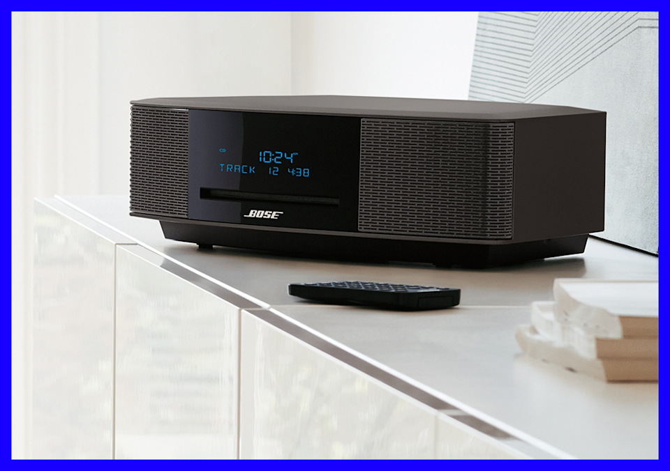 As pretty as it is powerful, the Bose Wave delivers audio like a component way bigger. (Photo: Bose)