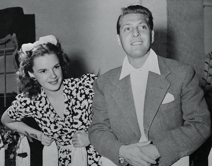 """<p>When Judy Garland married composer David Rose in 1941, MGM didn't approve, so what'd they do? They forced her to return to work a short <a href=""""https://timeline.com/hollywood-drugs-1930s-6b27a1404552"""" rel=""""nofollow noopener"""" target=""""_blank"""" data-ylk=""""slk:24 hours after their wedding"""" class=""""link rapid-noclick-resp"""">24 hours after their wedding</a>. No honeymoon for the happy couple.</p>"""