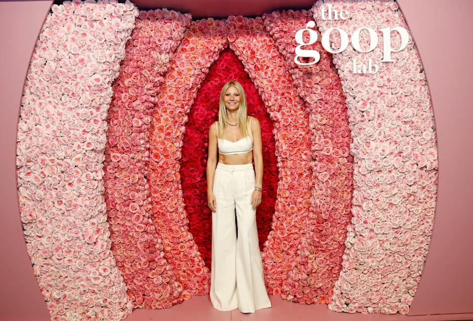 Gwyneth rarely shares images of her children, pictured at the goop lab Special Screening in Los Angeles, January 2020. (Getty Images)