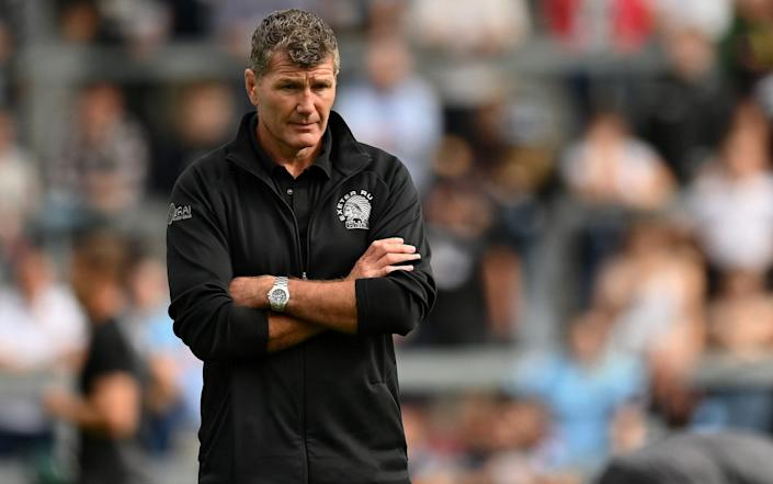 Rob Baxter rejects Chris Boyd's claim that new rugby laws have derailed Exeter Chiefs - GETTY IMAGES
