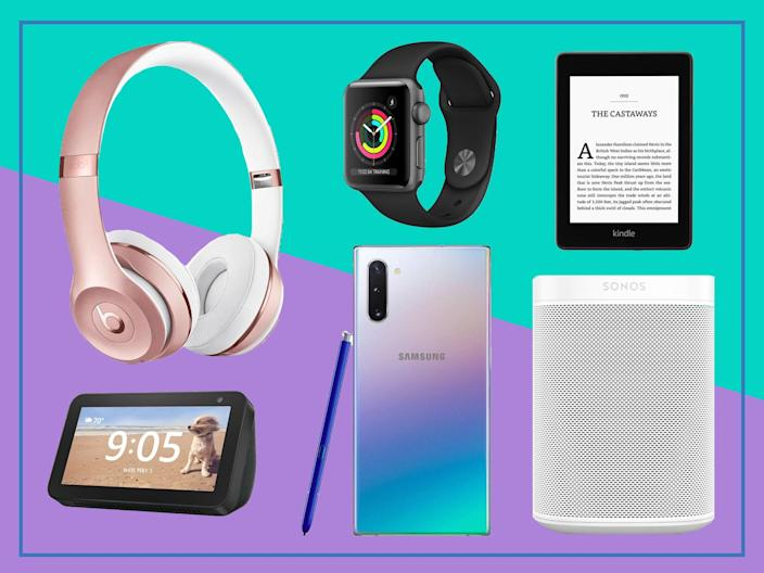 <p>Big-name brands are set to slash prices of products throughout the sale, so there's no better time to treat yourself</p> (The Independent)