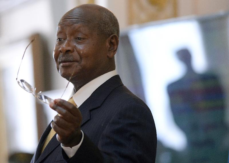 Ugandan President Yoweri Kaguta Museveni Museveni remains one of Africa's most wily and tenacious rulers (AFP Photo/Stefan Rousseau)