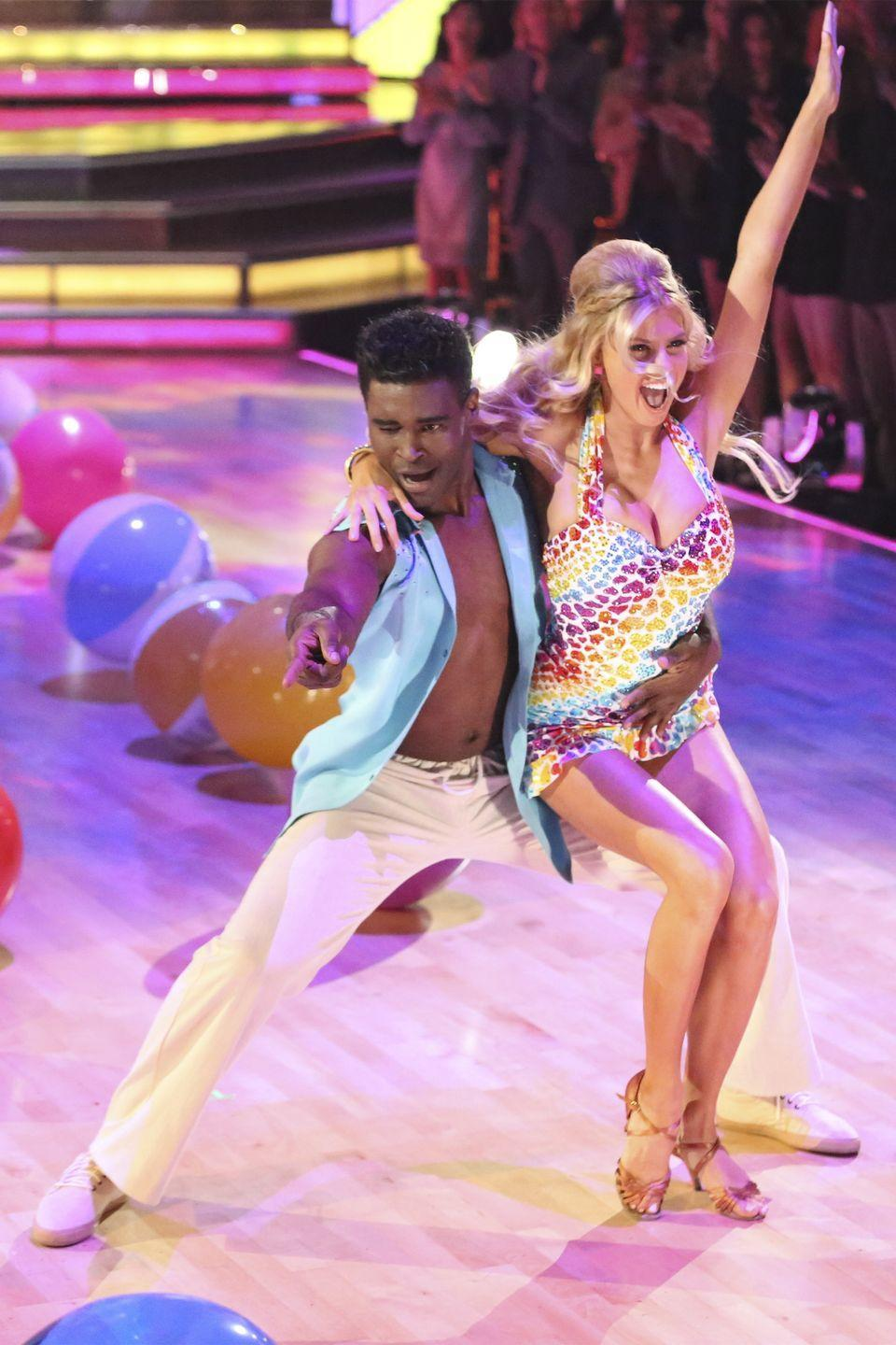 <p>In one of the weirder episodes of <em>DWTS, </em>the model explained that she wanted to be known for more than just her busty chest. The model then proceeded to talk about the *exact* thing she didn't want other people to focus on for the rest of the episode. </p>