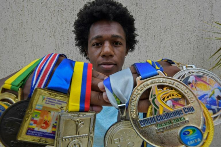 Black gymnast says career derailed by racism in Brazil