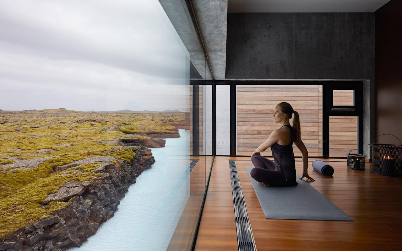 """<p>You've heard of the Blue Lagoon, Iceland's world-famous open-air spa fed by geothermal seawater, but what about the ultra-luxury hotel right next to it? As well as offering easy access to the Blue Lagoon itself, <a href=""""http://retreat.bluelagoon.com"""">The Retreat</a> ($1,155 per night for a suite) has a rooftop viewing deck for watching the northern lights. Even though it's busy by day, at night it's a private inlet of a super-dark <a href=""""http://www.reykjanesgeopark.is/en"""">UNESCO Global Geopark</a> on Iceland's Reykjanes Peninsula, perfect for viewing the aurora. </p>"""