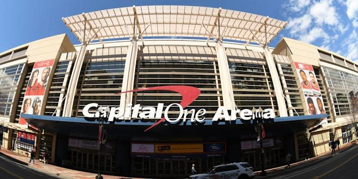 "Capital One Arena in Washington, DC. <p class=""copyright"">Photo by Mitchell Layton/Getty Images</p>"