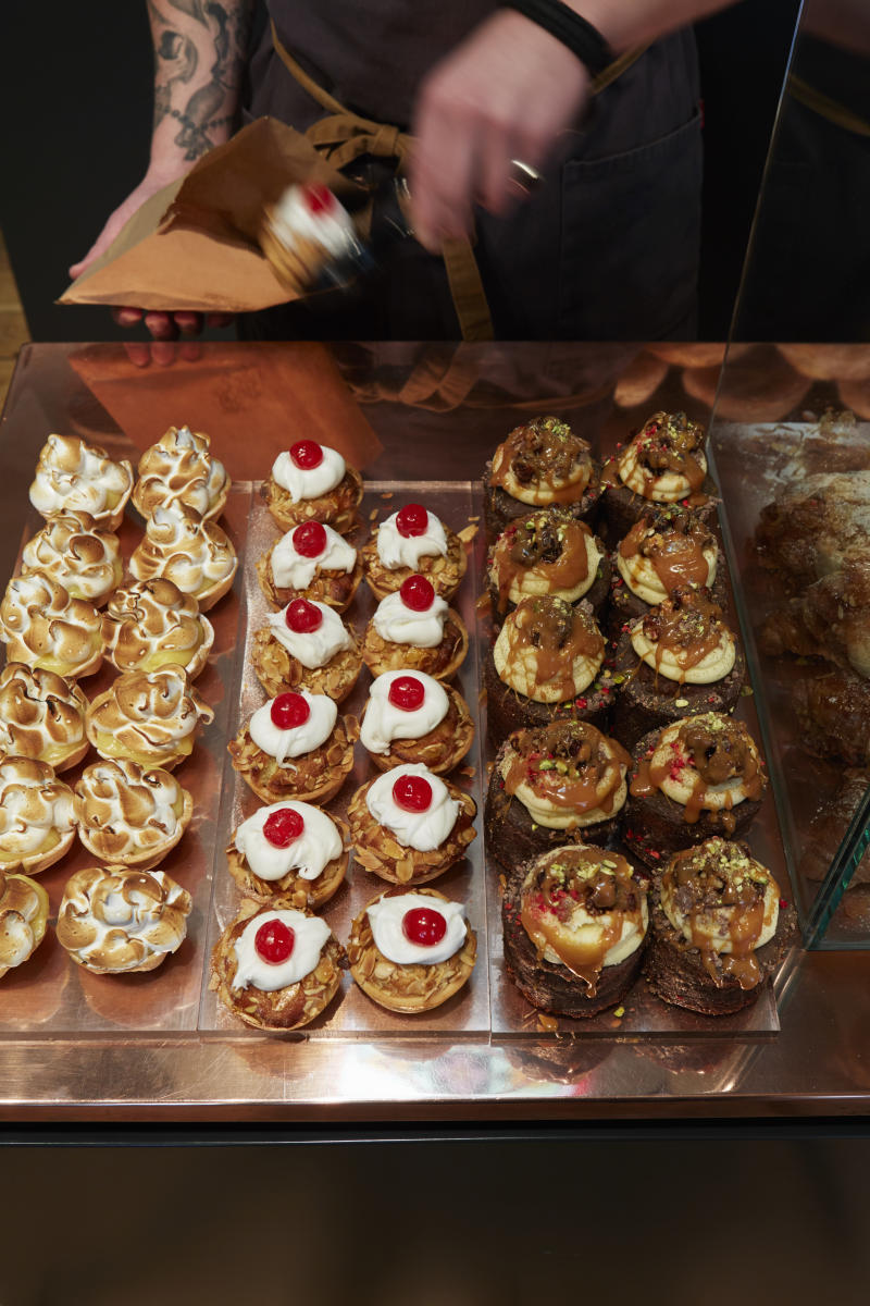 The fresh pastries at the Whitehouse [Photo: Whitehouse]