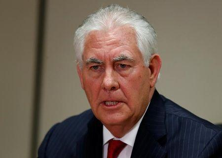 Tillerson, Trump team try to clarify foreign policy after airstrikes