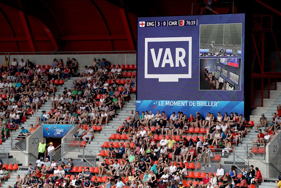 VAR played a significant role in the round of 16 tie. (Credit: Getty Images)