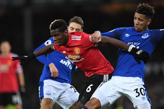 Paul Pogba was excellent against Everton on Monday. (Getty)