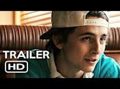 """<p><em>Hot Summer Nights</em> is a coming-of-age drama, except this time there's crime, drugs, and murder. The stylized 2018 A24 film with a limited theatrical release sees Chalamet as a young teenager sent to Cape Cod to live with his aunt for the summer, where he gets caught up selling weed. Things take a dark and deadly turn, though, Spring Breakers-style, and Chalamet's performance as the awkward kid-turned-drug lord is a fine one in a film without much purposeful direction.</p><p><a class=""""link rapid-noclick-resp"""" href=""""https://www.amazon.com/gp/video/detail/amzn1.dv.gti.eeb2266e-0de5-22b1-fecb-daf01a7ab2e0?autoplay=1&ref_=atv_cf_strg_wb&tag=syn-yahoo-20&ascsubtag=%5Bartid%7C10054.g.36630235%5Bsrc%7Cyahoo-us"""" rel=""""nofollow noopener"""" target=""""_blank"""" data-ylk=""""slk:Watch Now"""">Watch Now</a></p><p><a href=""""https://www.youtube.com/watch?v=M2nWr1jwPK4"""" rel=""""nofollow noopener"""" target=""""_blank"""" data-ylk=""""slk:See the original post on Youtube"""" class=""""link rapid-noclick-resp"""">See the original post on Youtube</a></p>"""