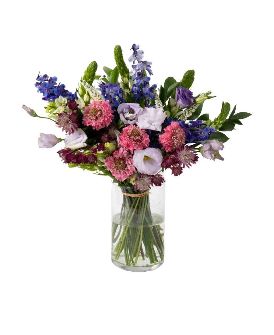 """No one can resist fresh-cut blooms, and this <a href=""""https://www.glamour.com/gallery/best-flower-delivery-service?mbid=synd_yahoo_rss"""" rel=""""nofollow noopener"""" target=""""_blank"""" data-ylk=""""slk:pretty bouquet"""" class=""""link rapid-noclick-resp"""">pretty bouquet</a> is a high-impact, instant-chic kind of gift. $88, UrbanStems. <a href=""""https://urbanstems.com/products/flowers/double-the-jardin/FLRL-K-00088.html"""" rel=""""nofollow noopener"""" target=""""_blank"""" data-ylk=""""slk:Get it now!"""" class=""""link rapid-noclick-resp"""">Get it now!</a>"""