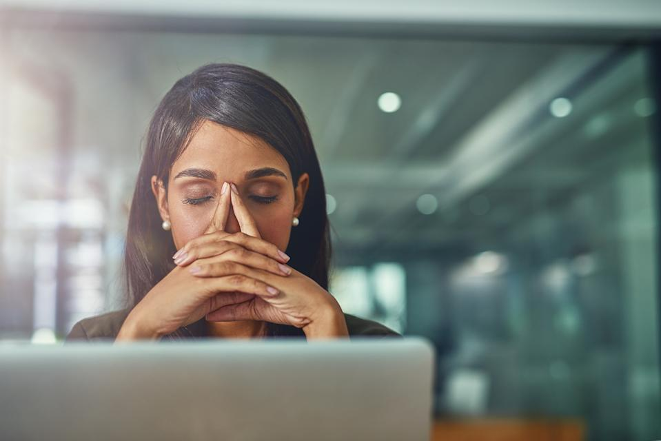 Women are receiving threats that men will go to their employers if they decline their advances on LinkedIn. (Image via Getty Images)
