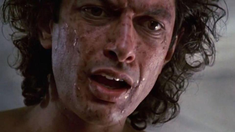 """<p><strong><em>The Fly</em></strong></p><p>In an experiment gone wrong, a scientist (Jeff Goldblum) turns into a fly-like creature. The film is a remake of the 1958 Vincent Price classic.</p><p><a class=""""link rapid-noclick-resp"""" href=""""https://www.amazon.com/Fly-Jeff-Goldblum/dp/B0049DCAUC/?tag=syn-yahoo-20&ascsubtag=%5Bartid%7C10055.g.29120903%5Bsrc%7Cyahoo-us"""" rel=""""nofollow noopener"""" target=""""_blank"""" data-ylk=""""slk:WATCH NOW"""">WATCH NOW</a></p>"""