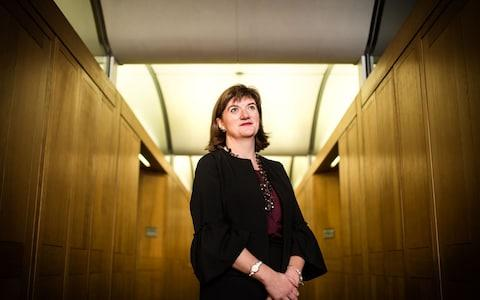 Nicky Morgan, chair of the Treasury committee - Credit: John Nguyen/JNVisuals