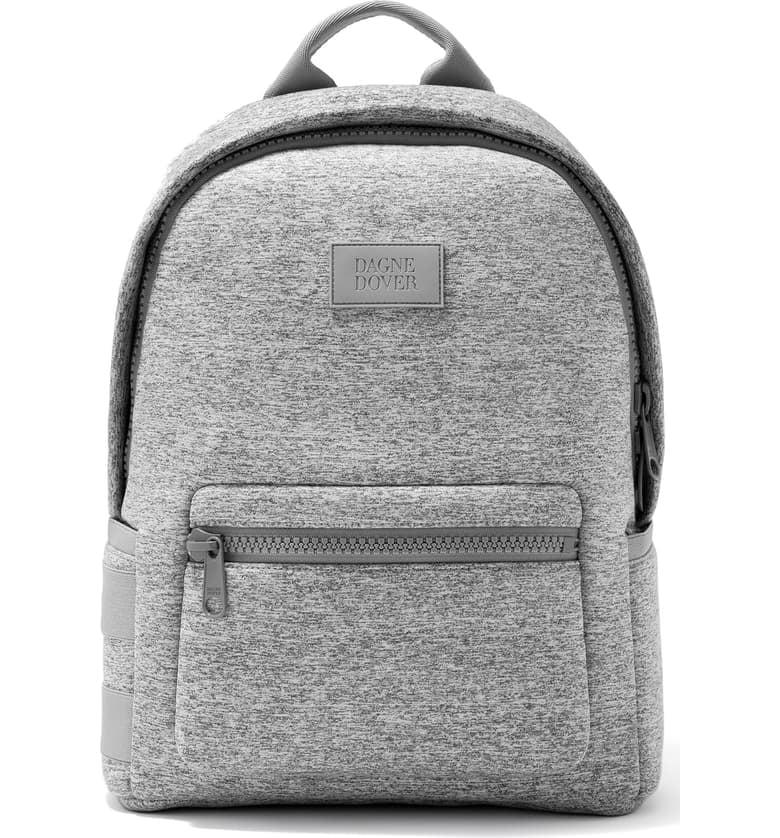 "<p>If you like lighter colors, try the heather gray <a href=""https://www.popsugar.com/buy/Dagne-Dover-Medium-Dakota-Neoprene-Backpack-481012?p_name=Dagne%20Dover%20Medium%20Dakota%20Neoprene%20Backpack&retailer=shop.nordstrom.com&pid=481012&price=175&evar1=fit%3Aus&evar9=46507828&evar98=https%3A%2F%2Fwww.popsugar.com%2Ffitness%2Fphoto-gallery%2F46507828%2Fimage%2F46508344%2FHeather-Grey-Dagne-Dover-Medium-Dakota-Neoprene-Backpack&list1=fitness%20gear%2Cbackpacks&prop13=mobile&pdata=1"" rel=""nofollow"" data-shoppable-link=""1"" target=""_blank"" class=""ga-track"" data-ga-category=""Related"" data-ga-label=""https://shop.nordstrom.com/s/dagne-dover-medium-dakota-neoprene-backpack/5327363?origin=coordinating-5327363-2375500-1-HP_CUST_HIS-recbot-recently_viewed_snowplow_mvp&amp;recs_placement=HP_CUST_HIS&amp;recs_strategy=recently_viewed_snowplow_mvp&amp;recs_source=recbot&amp;recs_page_type=home&amp;recs_seed=0"" data-ga-action=""In-Line Links"">Dagne Dover Medium Dakota Neoprene Backpack</a> ($175). </p>"