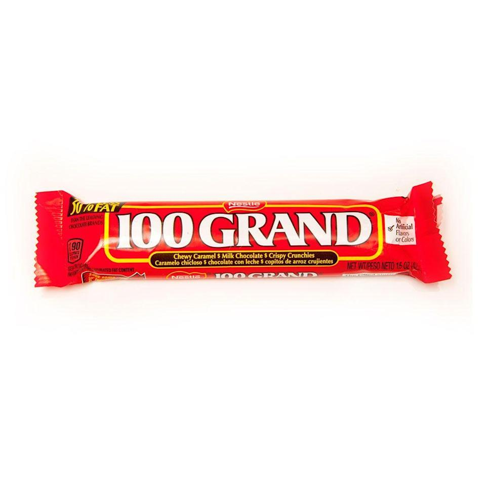 "<p>This bar was first known as $100,000 Bar, verbalized as ""hundred thousand dollar bar,"" until 1985 or 1986. But the same flavor was there, thanks to the Ferrara Candy Company.</p>"