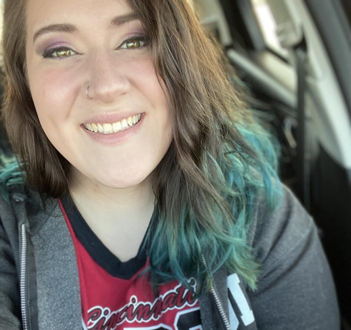 Chelsey Klosterman of Seymour, Indiana was recently laid off from her factory job and now makes 20% more with the unemployment benefits. Photo: Courtesy of Chelsey Klosterman