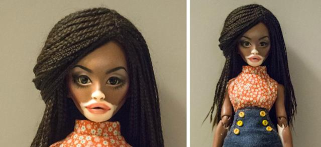 The inspiration for this doll was model Winnie Harlow, and it's taking over social media. (Photo: winonaflammery.tumblr.com)