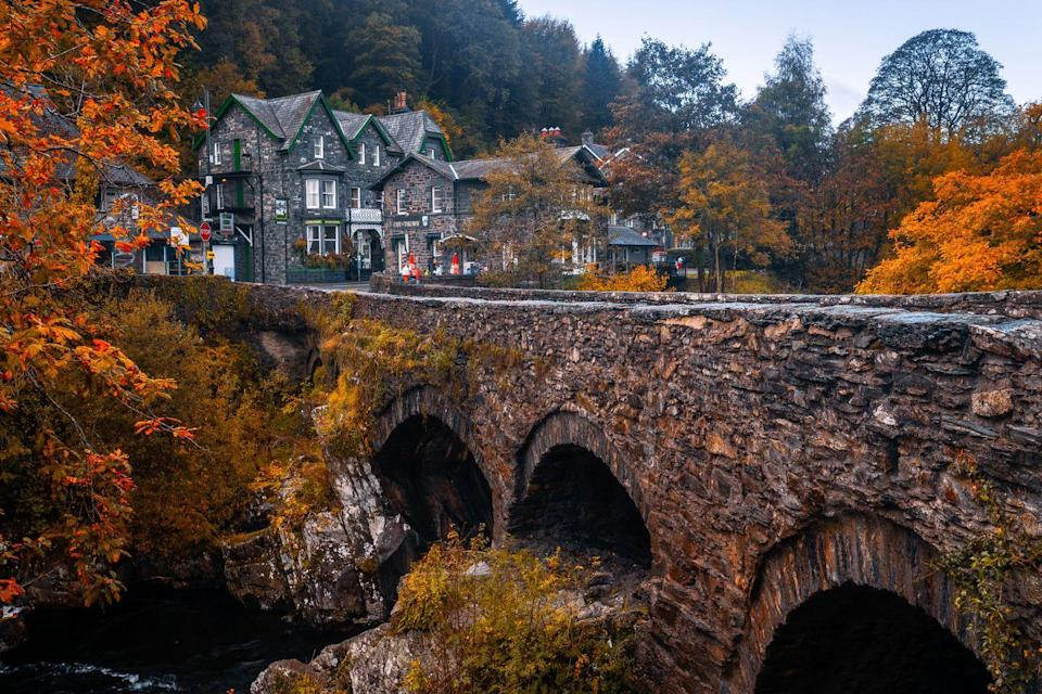 """<p>This bridge is a cornerstone of history and one of the most iconic settings in North Wales. One of the best bridges in the area, it's a wonderful place to explore on a slow Sunday afternoon. </p><p><a class=""""link rapid-noclick-resp"""" href=""""https://www.tripadvisor.co.uk/Attraction_Review-g186447-d13206591-Reviews-Pont_y_Pair_Bridge-Betws_y_Coed_Snowdonia_National_Park_North_Wales_Wales.html"""" rel=""""nofollow noopener"""" target=""""_blank"""" data-ylk=""""slk:MORE INFO"""">MORE INFO</a></p>"""