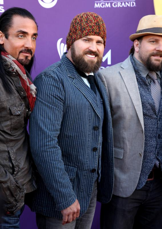 ZAC BROWN BAND, Live from the RAM Red Carpet, 47th Annual ACM Awards, Las Vegas, NV