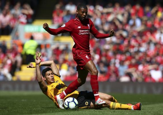 Liverpool's midfield was never quite fully settled (AP)