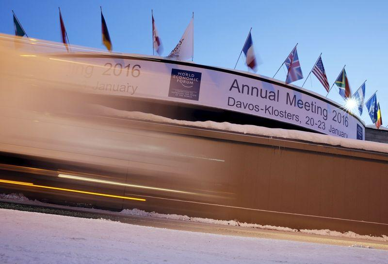 The congress center is pictured ahead of the Annual Meeting 2016 of the World Economic Forum in Davos