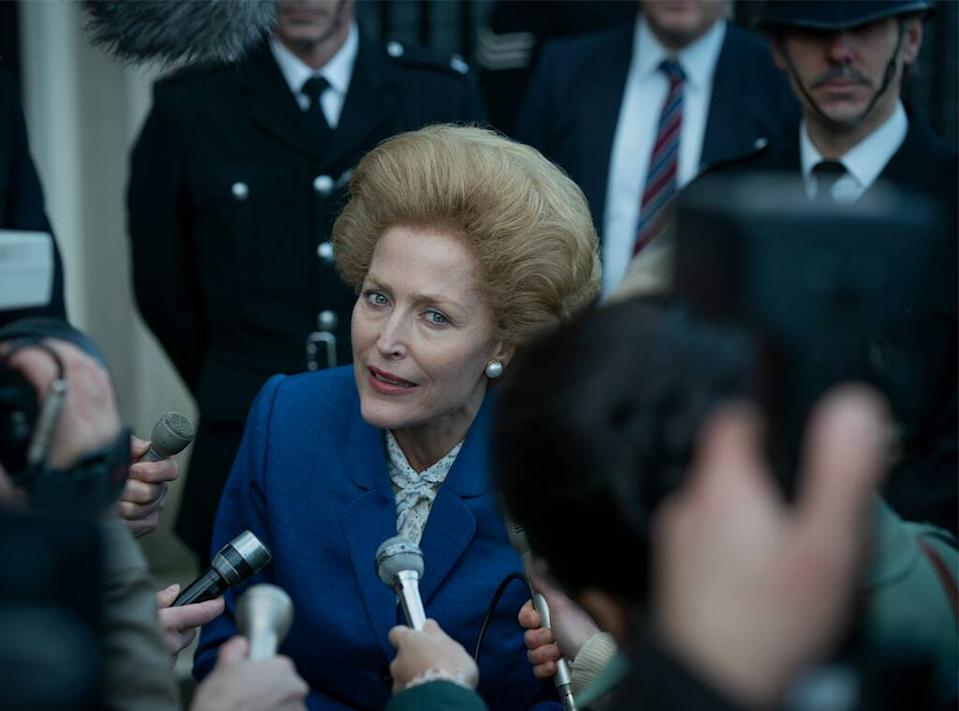 The Crown, Gillian Anderson, Season 4, Margaret Thatcher