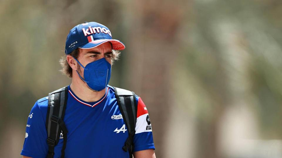 Fernando Alonso tifosissimo del Real Madrid | Mark Thompson/Getty Images