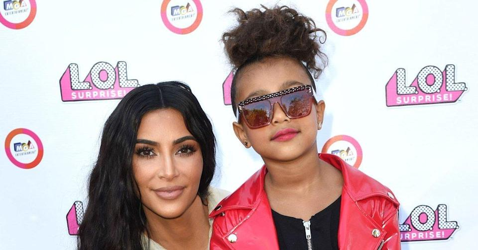 Kim Kardashian Says She Delayed Her Birth with North by 2 Hours to Get a Manicure